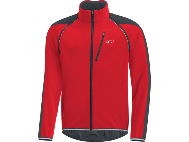 GORE WEAR C3 Windstopper Phantom Afrits Jack Heren, red/black